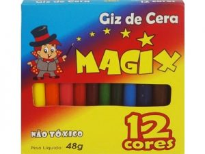 Giz de Cera Fino Magic c/12