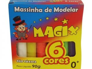 Massinha de Modelar Magic c/6